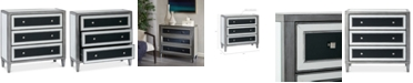 Furniture Nico 3-Drawer Chest, Quick Ship