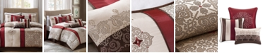 Madison Park Donovan 7-Pc. Medallion Jacquard California King Comforter Set
