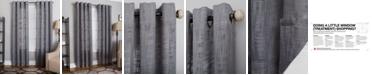 "Miller Curtains Morris 50"" x 63"" Textured Window Panel"