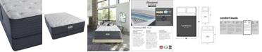 "Beautyrest Platinum Preferred Chestnut Hill 14"" Plush Mattress Set- Full"