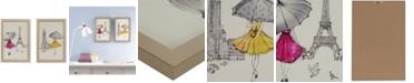 JLA Home Intelligent Design A Funday Stroll 2-Pc. Framed Gel-Coated Wall Art Set