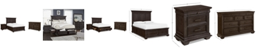 Furniture Hansen Storage Bedroom Furniture, 3-Pc. Set (King Bed, Nightstand, and Dresser), Created for Macy's