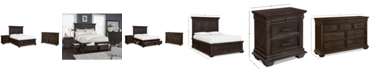 Furniture Hansen Storage Bedroom Furniture, 3-Pc. Set (California King Bed, Nightstand, and Dresser), Created for Macy's