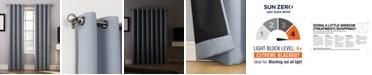 """Sun Zero Oslo 52"""" x 63"""" Theater Grade Blackout Grommet Curtain Panel"""