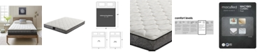 """MacyBed by Serta  Classic 7.5"""" Plush Mattress - California King, Created for Macy's"""