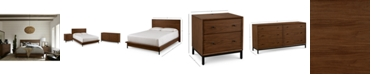Furniture Oslo Bedroom Furniture, 3-Pc. Set (Queen Bed, Nightstand & Dresser), Created for Macy's