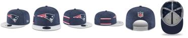 New Era New England Patriots On Field Sideline Home 9FIFTY Snapback Cap