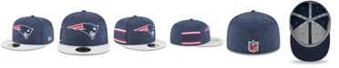 New Era New England Patriots On Field Sideline Home 59FIFTY FITTED Cap