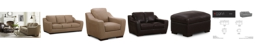 Furniture CLOSEOUT! Gansey Leather Sofa Collection
