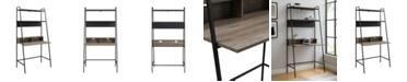 Walker Edison 36 inch Metal and Wood Ladder Desk