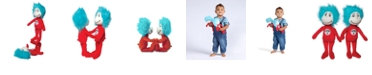 Manhattan Toy Company Manhattan Toy Dr. Seuss Thing 1 And Thing 2 Plush Toy Set