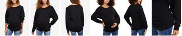 Motherhood Maternity Jersey Sweatshirt