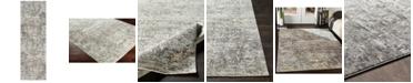 "Surya Presidential PDT-2304 Medium Gray 3'3"" x 10' Runner Area Rug"