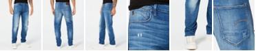 G-Star Raw Men's Arc 3D Slim-Fit Stretch Destroyed Jeans