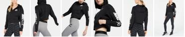 Nike Air Fleece Zip Cropped Hoodie