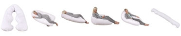 Leachco Back 'N Belly Bliss Maternity/Pregnancy Flexible Contoured Body Pillow