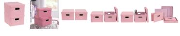 Household Essentials 2-Pc. Carnation Storage Box Set