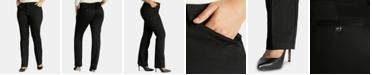 Lee Platinum Plus Size Straight-Leg Pants