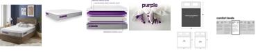 """Purple .3 12"""" Cushion Firm Mattress - California King"""