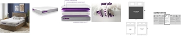 "Purple .3 12"" Cushion Firm Mattress - King"