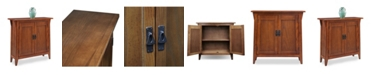 Leick Home Favorite Finds Mission Foyer Cabinet/Hall Stand with Adjustable Shelf