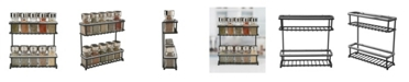 The Macbeth Collection Macbeth Collection 2 Tier Slim Line Spice Rack