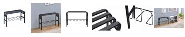 Proman Products Horizon Metal Entryway Bench