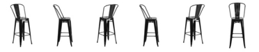 "Clickhere2shop 30"" High Metal Indoor-Outdoor Restaurant Bar Stool"