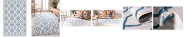 Bridgeport Home Pashio Pas8 Cream 5' x 8' Area Rug