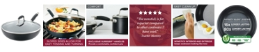 """Anolon Advanced Home Hard-Anodized 12"""" Nonstick Ultimate Pan"""