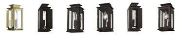 "Livex Princeton 1-Light 9"" Outdoor Wall Lantern"