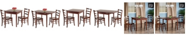 Winsome Pulman 3-Piece Extension Table Set