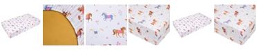 Wildkin Horses Fitted Crib Sheet