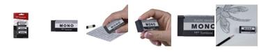 Tombow MONO Eraser, Medium, Black, 3-Pack