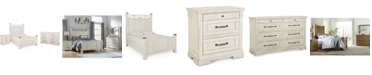 Furniture Trisha Yearwood Homecoming Post Bedroom Collection 3-Pc. Set (Queen Bed, Nightstand & Dresser)