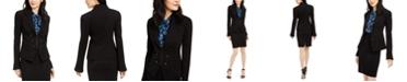 Nanette Lepore Ponté-Knit Flared Jacket