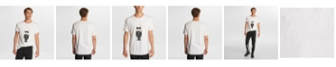 Karl Lagerfeld Paris Men's Karl Caricature With Sunglasses T-Shirt