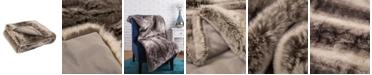 Glitzhome Faux Fur Throw/Blanket