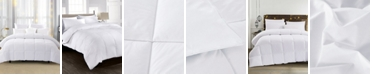 UNIKOME 600 Fill Power 75% White Down Year Round Comforter, Size- Full/Queen