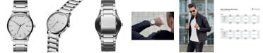 MVMT Men's Classic Stainless Steel Bracelet Watch 45mm