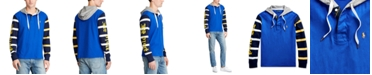 Polo Ralph Lauren Men's Color-Blocked Hooded Rugby