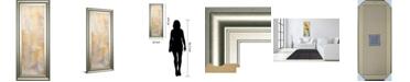 "Classy Art Careless Whisper III by Erin Ashley Framed Print Wall Art, 18"" x 42"""