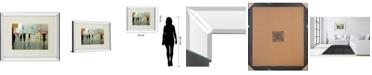 """Classy Art New York Reality by Tate Hamilton Mirror Framed Print Wall Art, 34"""" x 40"""""""