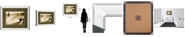 "Classy Art Cyprus Eclipse II by Brent Collins Mirror Framed Print Wall Art, 34"" x 40"""