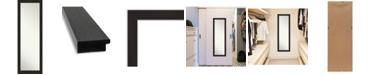 "Amanti Art Furniture on The Door Full Length Mirror, 17.5"" x 51.50"""