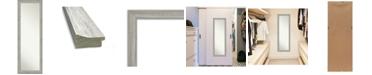 "Amanti Art Dove on The Door Full Length Mirror, 17.5"" x 51.50"""