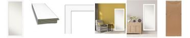 """Amanti Art Cabinet Framed Floor/Leaner Full Length Mirror, 29.38"""" x 65.38"""""""