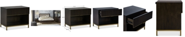 Furniture Hotel Collection Derwick USB Nightstand, Created for Macy's