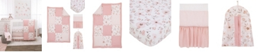 NoJo Countryside Floral 4-Piece Crib Bedding Set