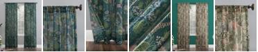"Lichtenberg No. 918 Senegal Night Safari 50"" x 84"" Semi-Sheer Curtain Panel"